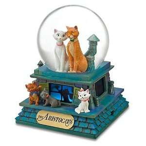 Disney Aristocats Musical Snow Globe