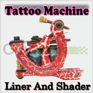 Pro Tattoo Machine LCD Digital power supply Foot Pedal Clip Cord