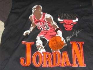 vintage MICHAEL JORDAN CHICAGO BULLS caricature shirt L