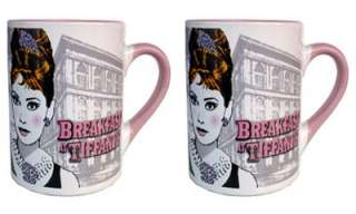 Audrey Hepburn Breakfast At Tiffanys Ceramic 14oz Coffee Mug Authentic