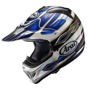 Arai VX Pro 3 Windham Helmet   X Small/Blue: Automotive
