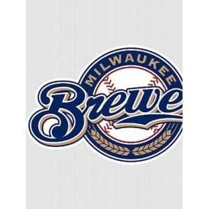 Wallpaper Fathead Fathead MLB Players & Logos Milwaukee Brewers Logo