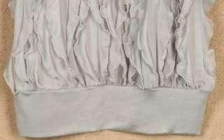 Korea Women Plicate Off shoulder Batty Short Sleeve Top T shirt Black
