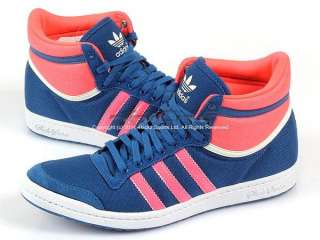 Adidas Top Ten Hi Sleek W Lone Blue/Spray/Turbo Casual Sports Heritage