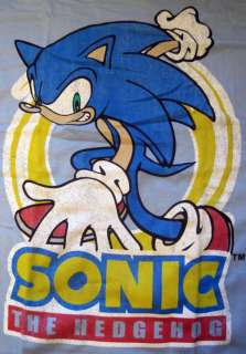 Sonic Hedgehog Sega Video Game Cartoon T Shirt Hat Cap