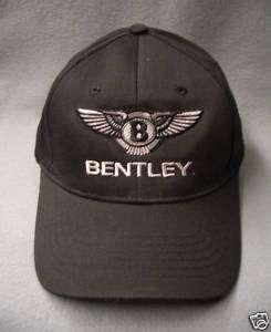 Bentley Classic Black Baseball Cap Hat Cotton