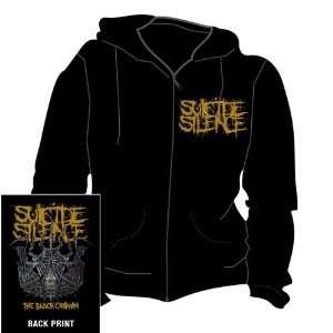 Loud Distribution   Suicide Silence Sweater à capuche Black Crown (L)