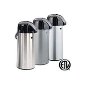 NewTech Airpot with Smooth Pump   2.2 Liters (Silver) AAPE