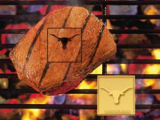 Texas Longhorns Team Logo BBQ Grill Meat Branding Iron