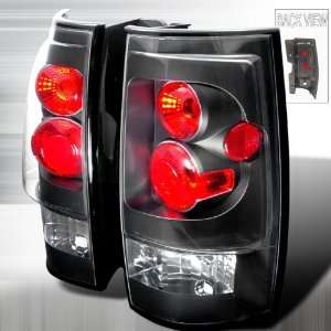 2007 2011 Chevy Tahoe, 2007 2011 GMC Denali Altezza Tail Light Black