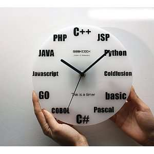 Digital Clock/Digital Wall Clock/Fashion Clock/Programming Clock Home