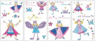 Fairy Princess Peel & Stick Wall Mural