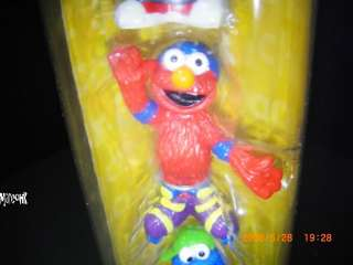 New Sesame Street Cookie Monster Elmo Ernie Figure Toy