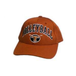 Texas Longhorns Orange Zephyr Volleyball Sport Hat Sports