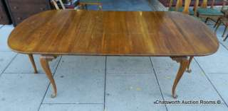 Solid Cherry Extra Large Country Gateleg Drop Leaf Dining Room Table