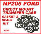 NP205 FORD TRANSFER CASE GASKET & SEALS KIT DIRECT MOUNT 71 89