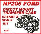 NP205 FORD TRANSFER CASE GASKET & SEALS KIT DIRECT MOUNT 71 89