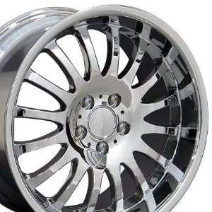 Wheel1x   Replica Wheel Fits Mercedes Benz   Chrome 18x9 Automotive