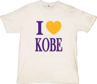 LOVE KOBE #24 Los Angeles Lakers T Shirt