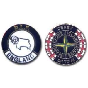 Derby DLF Hooligan Badges