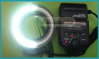 JY 675 Macro Ring LED Light Flash for NIKON D700 D800 D7000 D5100