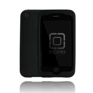 New Incipio dermaSHOT Silicone Case iPhone 3G 3GS Black