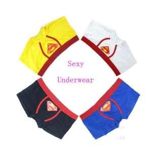 Classic Mens Sexy Underwear Cartoon Shorts Soft Brief Boxer Shorts
