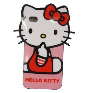 Hello Kitty Red Bow Classics Pose TPU Hard Silicone Case