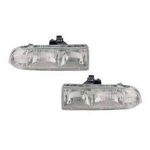 Chevy/GMC S 10 Pickup/S10 Blazer Headlights Headlamps Driver/Passenger