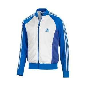 Adidas Originals Mens 2XL Superstar Sport SPO Track Top Jacket Blue