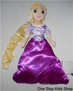 RAPUNZEL Disney Princess CUDDLE PILLOW Stuffed Animal Doll TANGLED