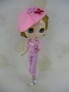 12 Neo Blythe outfit Cloth Basaak CCE blouse pants hat