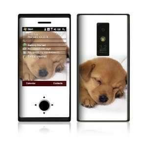 HTC Touch Pro Decal Vinyl Skin   Animal Sleeping Puppy