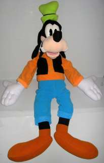 Disney Talking Goofy Hug Me Green Black Orange Blue White Hat Large 37