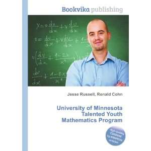 Talented Youth Mathematics Program Ronald Cohn Jesse Russell Books