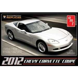 AMT 1/25 2012 Chevy Corvette Coupe Car Model Kit Toys