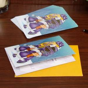 LSU Tigers Football 12 Pack Christmas Cards  Sports