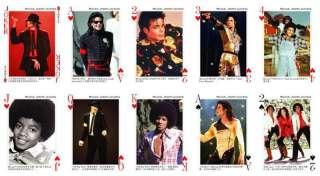 New Deck Poker Music Star Michael Jackson playing card