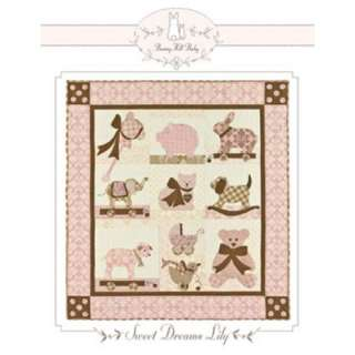 Bunny Hill Designs SWEET DREAMS LILY Quilt Pattern 815529010047