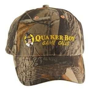 Quaker Boy Camo Hat Realtree Hardwoods 56404 Sports