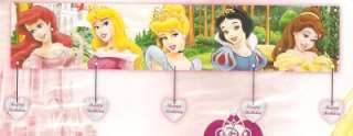 DISNEY PRINCESS GIANT BIRTHDAY PARTY BANNER + Ex.Gift
