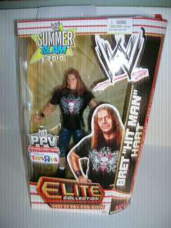 "WWE Mattel Elite Best of PPV Bret ""The Hitman"" Hart figure (Toys R"