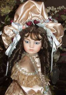LOVELESS 26 CHAMPAGNE ANTIQUE REPRODUCTION BRU JNE 13  ARTIST DOLL
