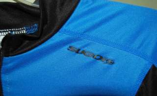 SUGOi SHORT SLEEVE BLUE BLACK CYCLING JERSEY MENS MED