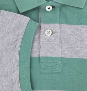 New $460 Brunello Cucinelli Green Polo XX Large