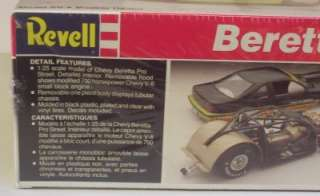 Pro Street Chevy Beretta Revell 125 VHTF SEALED Model Car Kit