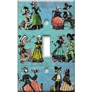 Switch Plate Cover Art Los Muertos Day of the Dead S