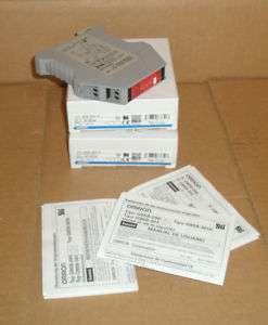 G9SB 2002 A Omron STI New In Box Safety Relay G9SB2002A