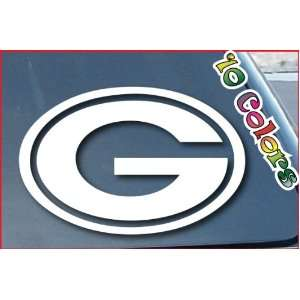 Green Bay Packers NFL Car Window Decal Sticker 8 Wide