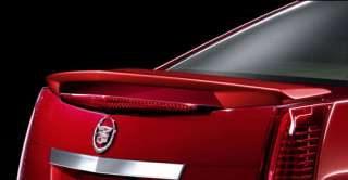 Cadillac CTS Spoiler Rear Deck Wing Painted 2008 2009